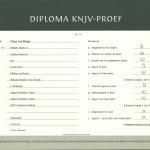 B diploma Ysa.