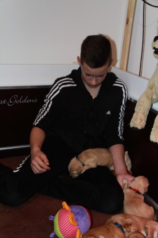 Luca is ook verliefd !