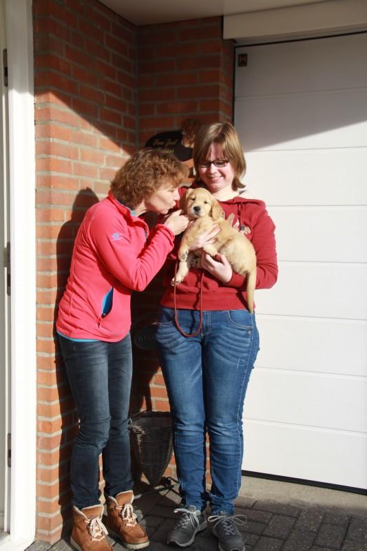 Nog even op de foto met Joke en Mieke !