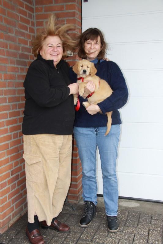 Sylvia ( r ) met Heidi en Adinda / Ayla