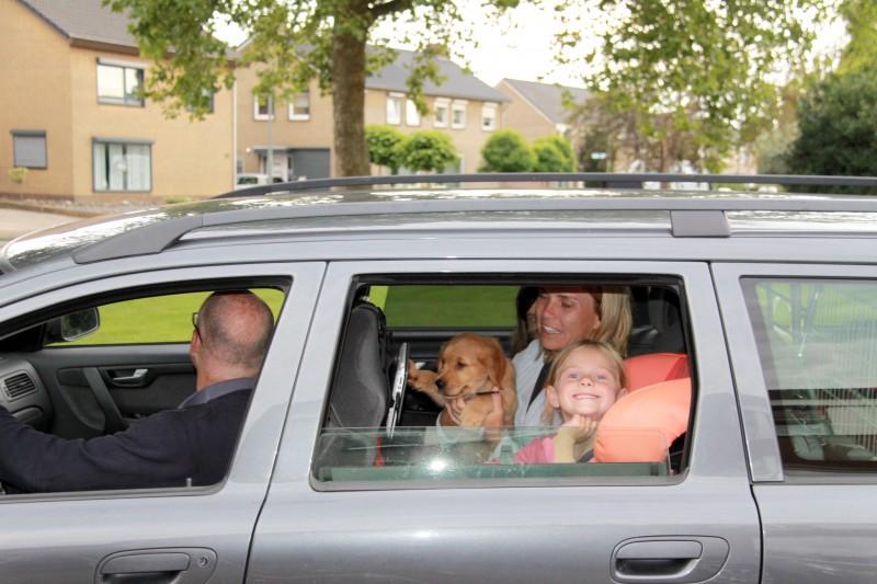 Dag Barney, goede reis naar je nieuwe thuis !!
