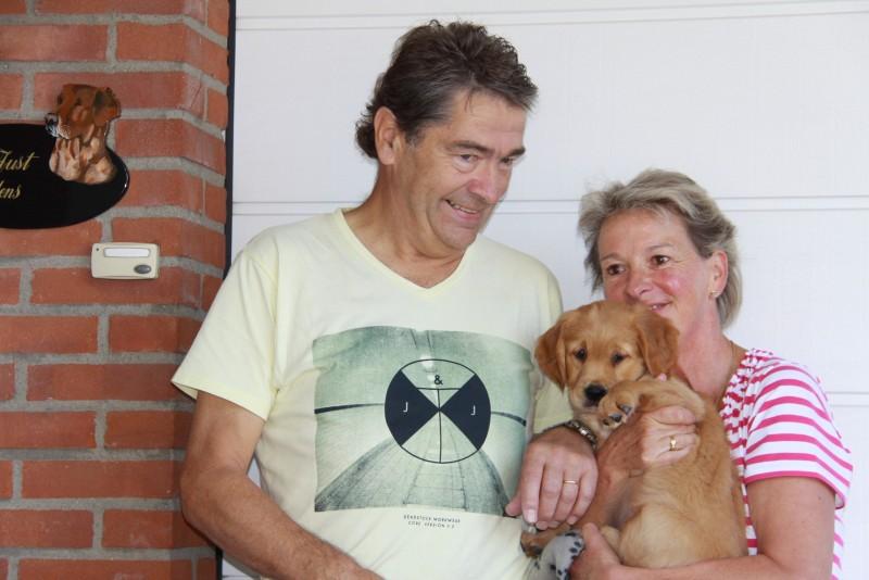 Aad en Irene met Bente / Zoë