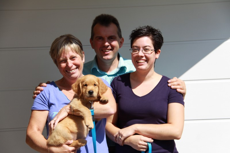 Helga ,Sylvain en Joyce met Bruce / Thor