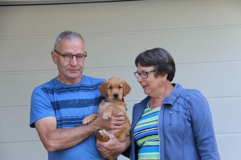Frans en Adrie met Bregje / Mila